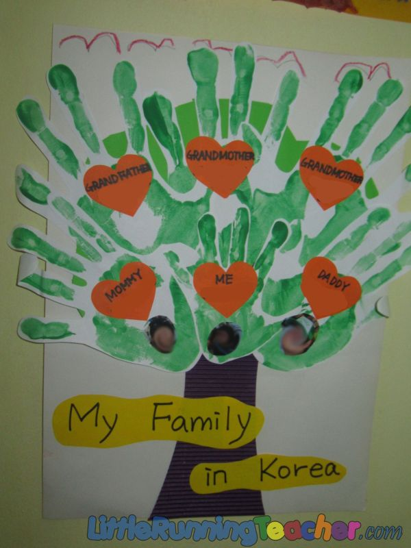 Preschool Family Tree Ideas