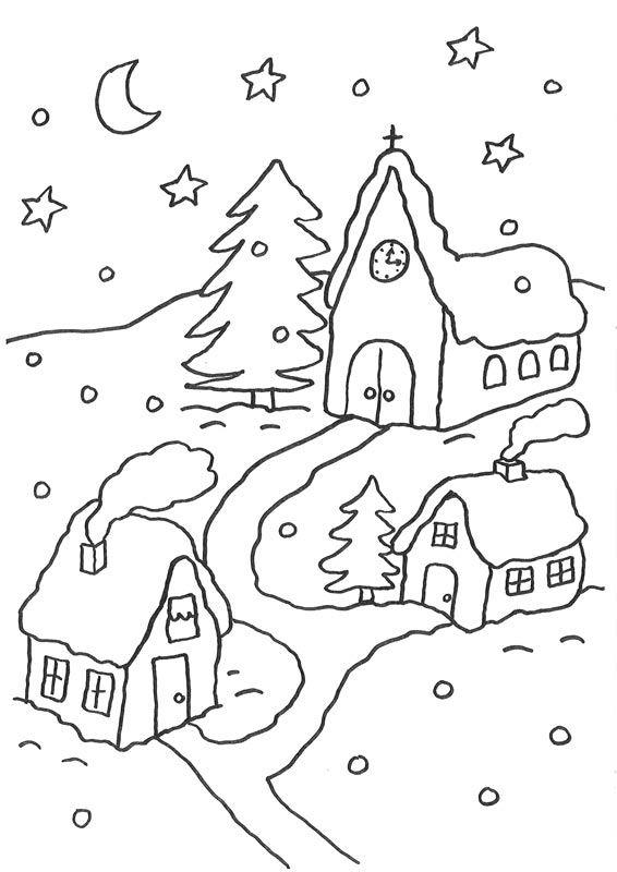 Ausmalbilder malvorlagen weihnachten - Ausmalbilder für