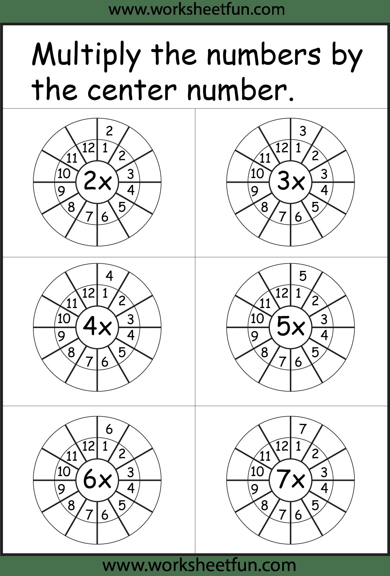 0 9 Multiplication Test Worksheet
