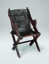 Glastonbury chair 16th century   Medieval Chairs ...