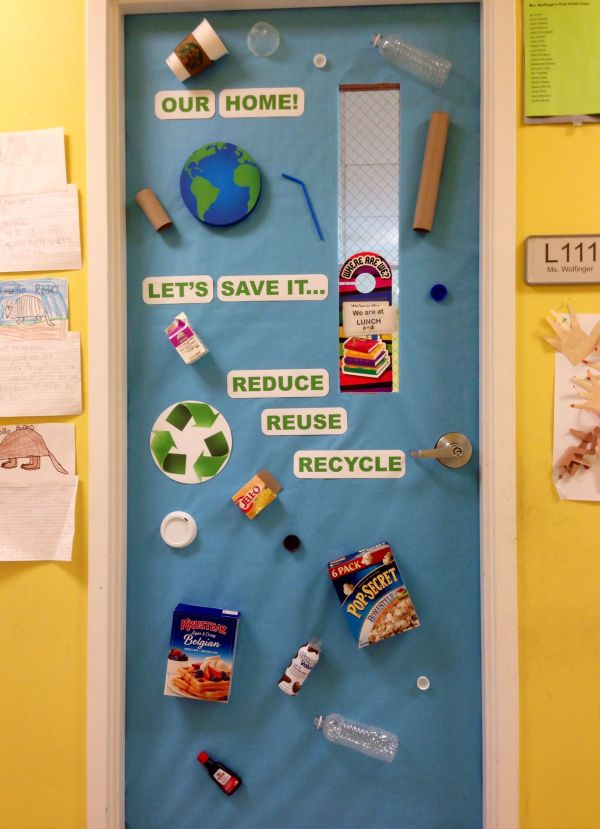 Earth Day Classroom Door Decorated Doors