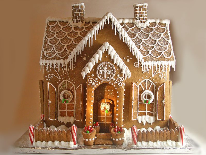 Gingerbread House This Kinda Looks Like My House Right? I So Want