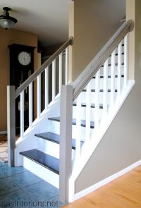 How to change carpeted stairs to wood, #diy, #stairs, # ...
