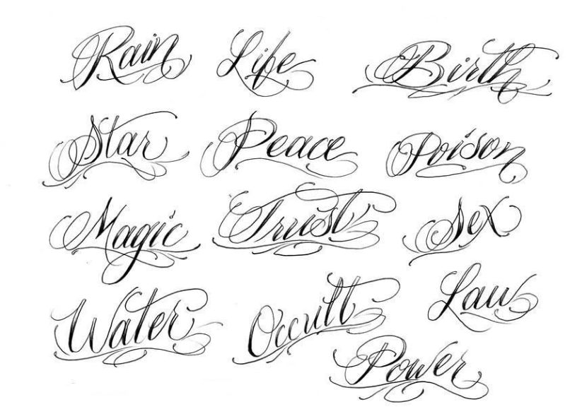 Best 10 Cursive Fonts For Tattoos Ideas On Script