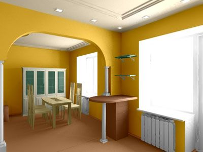 House Orange Interior Paint Colors