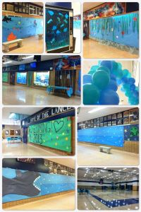Under the Sea Homecoming decorations | Decorating ideas ...