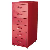 HELMER Drawer unit on casters - red - IKEA - I want to ...
