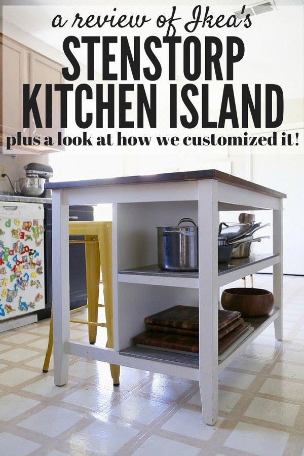 IKEA Hack Stenstorp Kitchen Island  Ikea hack Kitchens