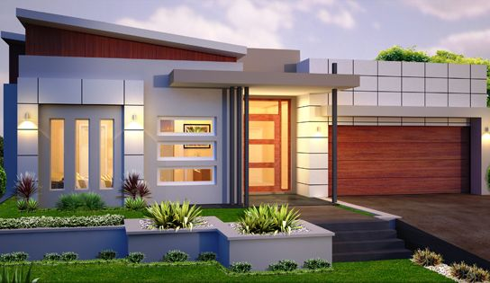A Small Modern House If You Are On The Budget This Plan Is A Good