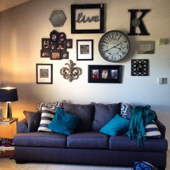 Above Sofa Artwork Hayes Chaise Reclining Wall Collage Interior Design Pinterest