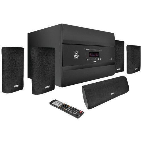 Pyle pro channel watt hdmi home theater system with bluetooth also rh pinterest