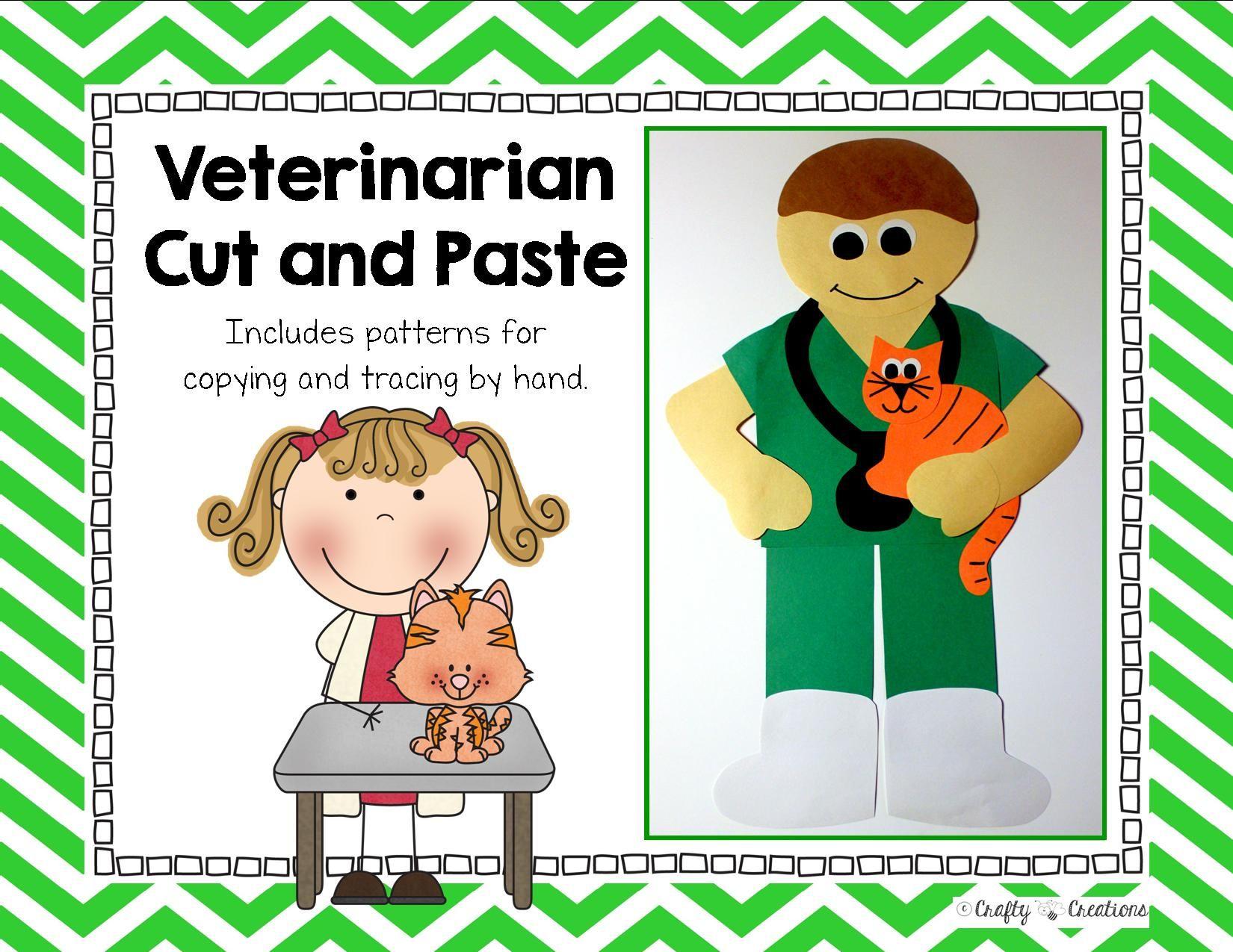Veterinarian Cut And Paste