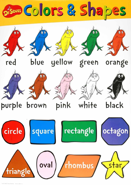 Colors Amp Shapes Chart