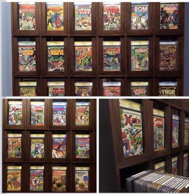 My CGC  Comic displaystorage cabinet  Comic Book