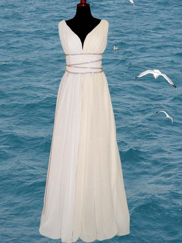 Greek Goddess Inspired Dresses Style Wedding