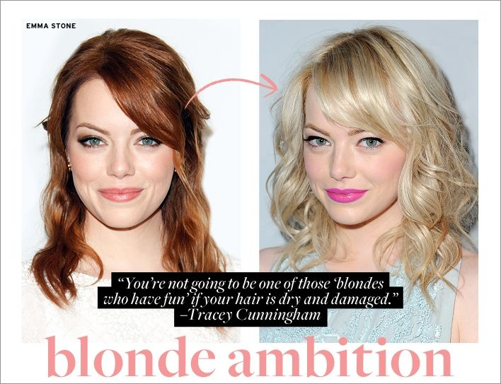 Blonde Ambition How To Prep Your Hair For A Healthy Change
