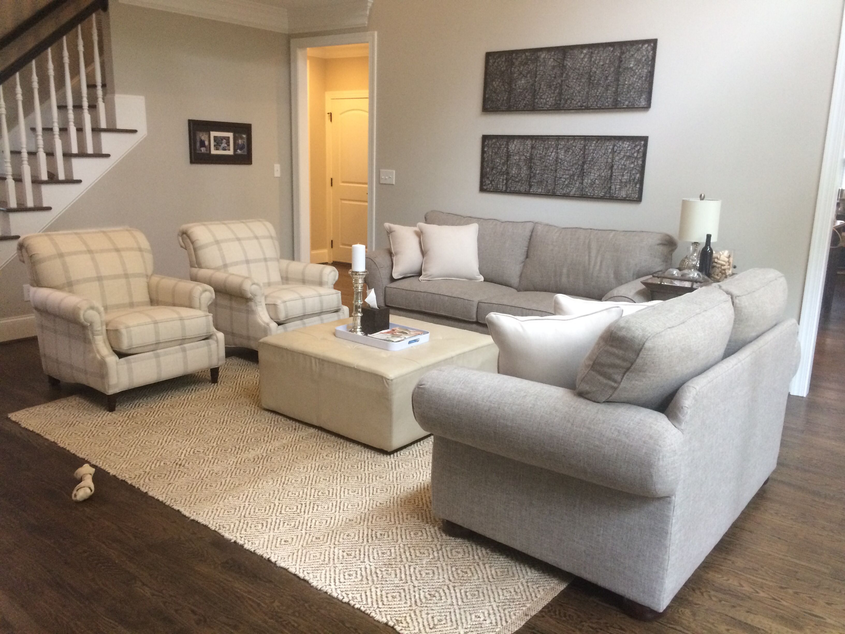 grey oversized chair with ottoman heavy duty chairs couches patterned jute rug cream leather