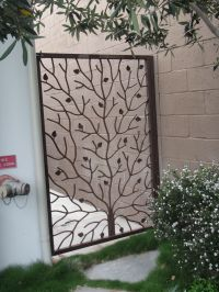 custom wrought iron gate | Shut the Front door (and gate ...