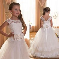 Cheap 2016 Ivory Cute First Communion Dresses For Girls ...