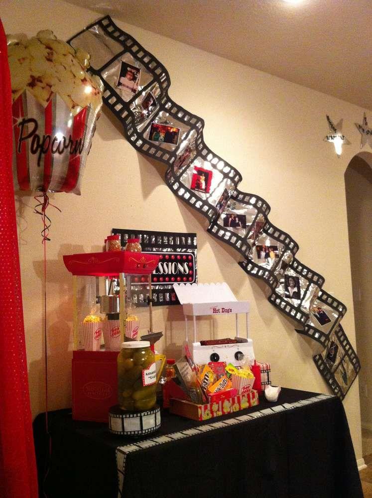 Movie Night Birthday Party Ideas  Birthday Party Ideas