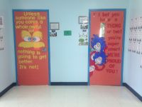 Dr. Seuss door decoration | For my classroom | Pinterest ...