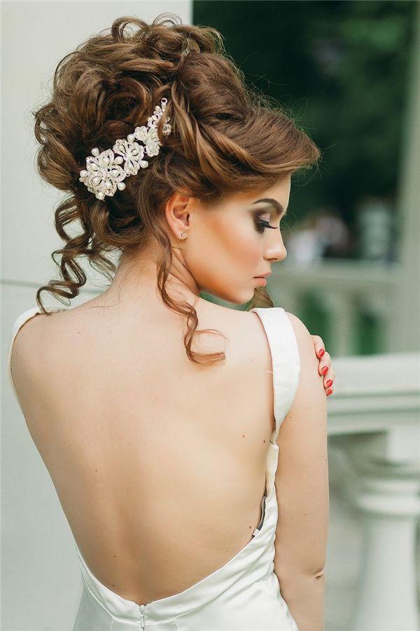 26 Chic Timeless Wedding Hairstyles From Elstile Wedding! Deer