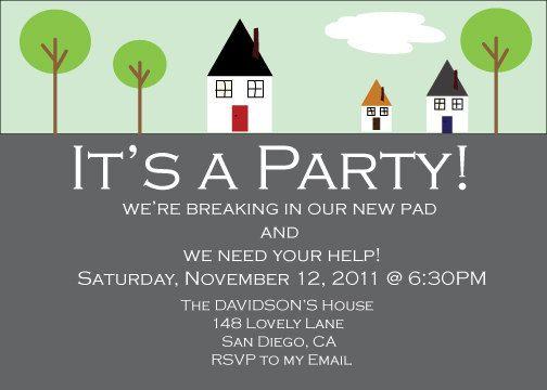 Housewarming Party Invites Thebridgesummit Co