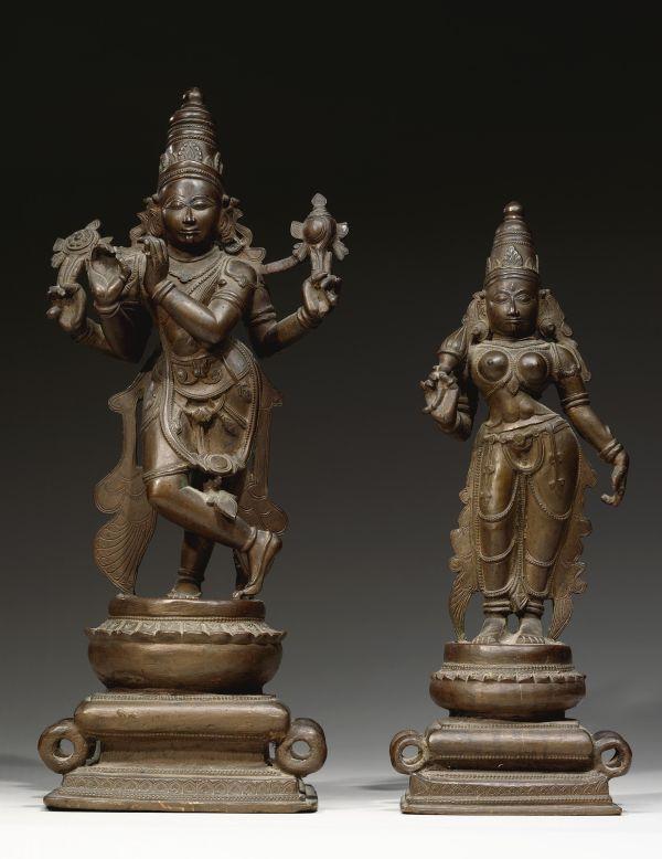 India Vishnu Ancient Sculptures