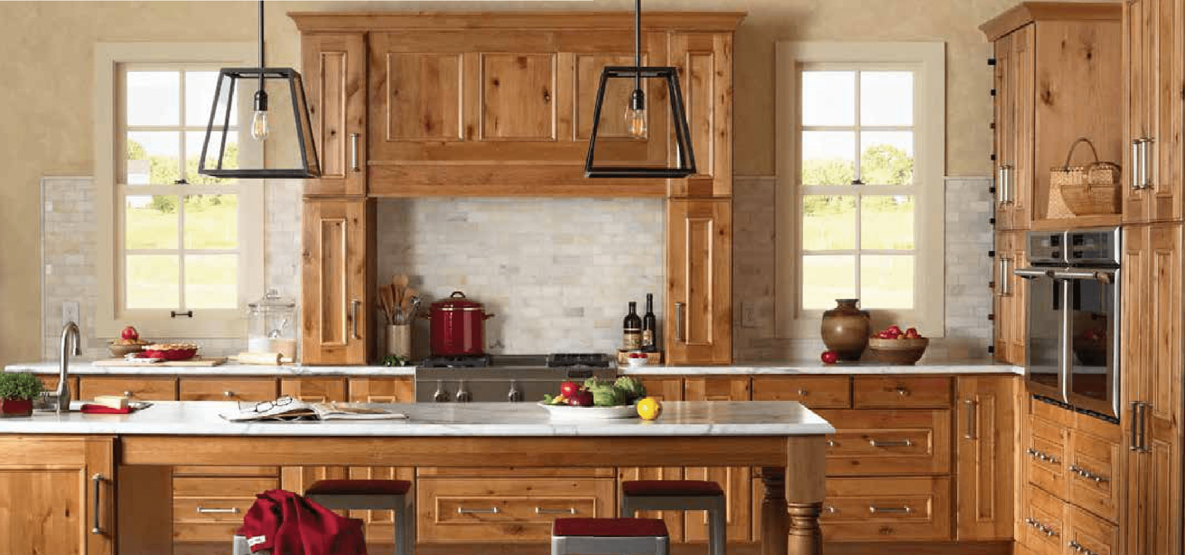 used kitchen cabinets indiana hardware ideas gilbert from norcraft cabinetry rustic alder natural