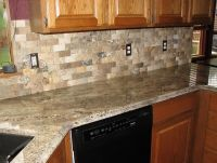 Santa Cecilia Granite Tile Backsplash | Home Design Ideas ...