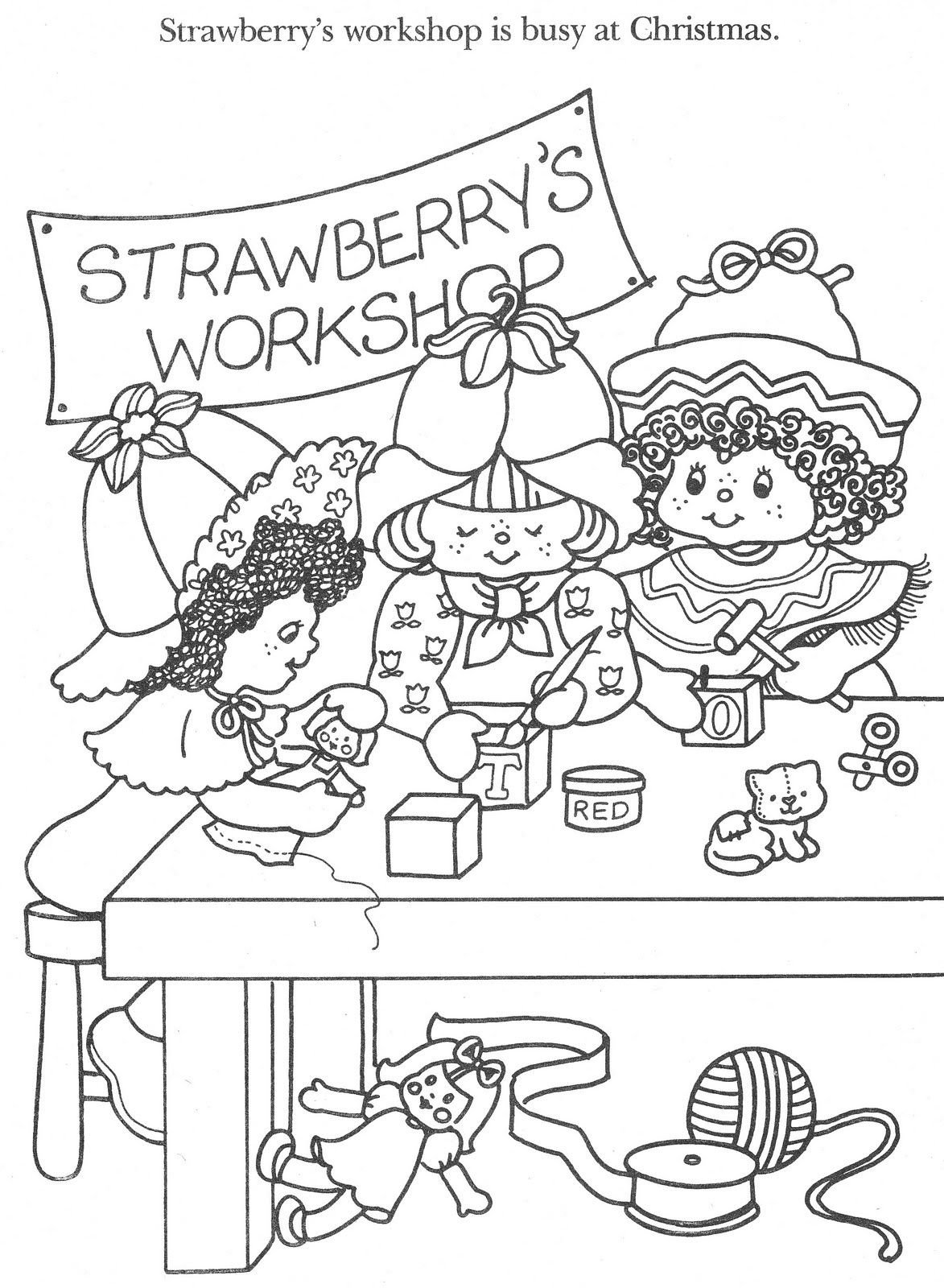 Vintage Kenner / American Greetings Strawberry Shortcake