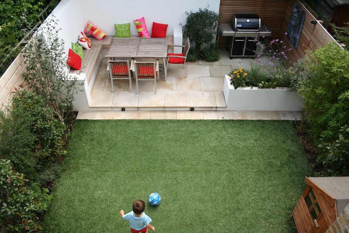 Aménagement Petit Jardin Dans L'arrière Cour–idées Modernes