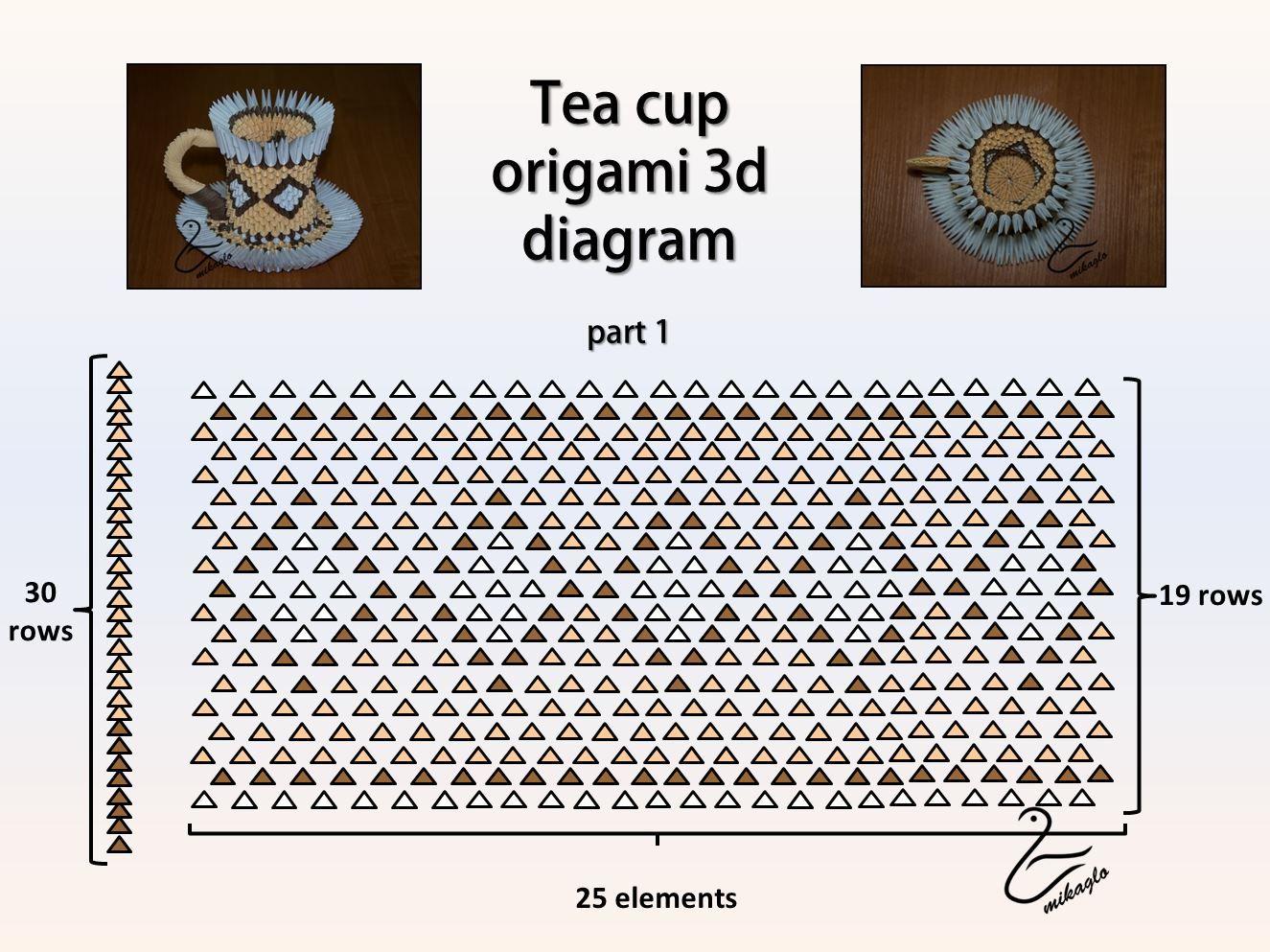 3d origami diagram animals dodge ram radio wiring 1998 patterns google zoeken used