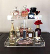 Bella Petite 2 Tier Perfume Organizer, Acrylic Makeup ...