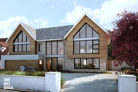 Replacement Dwelling In Essex House Exterior Pinterest House