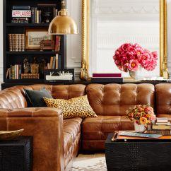 Pottery Barn Leather Sofa Hollywood Regency Ken Fulk X Decor Furniture Pinterest