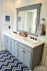 Painting Bathroom Cabinets on Pinterest | Painting ...