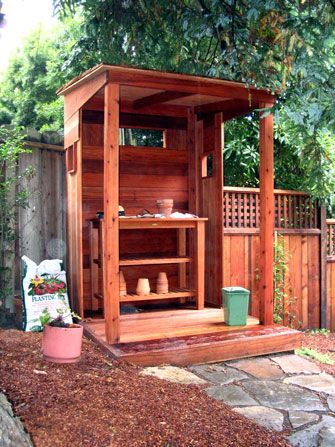 Potting Shed Plans How To Build A Storage Shed The Porch Patio