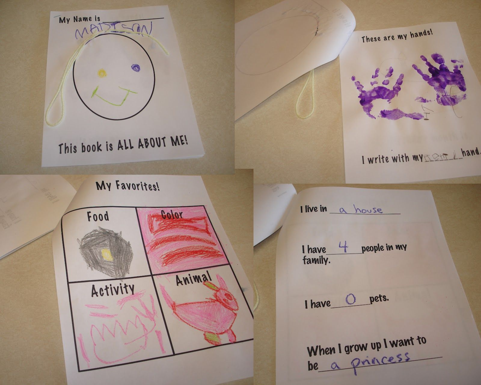 Cute Creative And Fun Preschool All About Me My Body