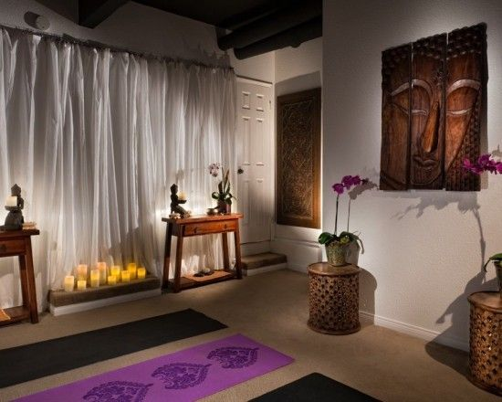 Asian home gym design pictures remodel decor and ideas meditation roomsyoga also for the rh pinterest