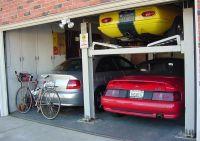 3 car garage :