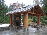 Seattle Traditional Home Outdoor Covered Patio Design ...
