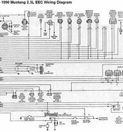b809770a1fd21af150f1361acda09af2 1990 mustang 2 3 wiring diagram mustang 1988 1990 2 3l eec 1988 mustang gt [ 1232 x 966 Pixel ]