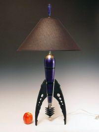 rocket table   Table Lamp. Atomic retro rocket lamp ...
