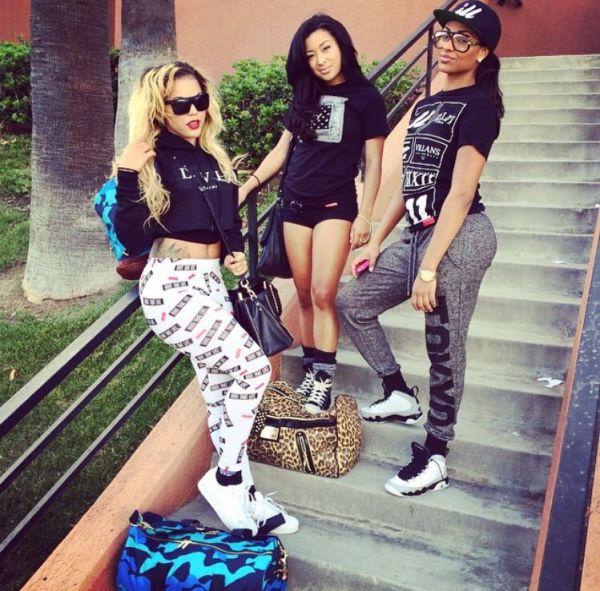 Pretty Girls Squad Shit Team Dope Fashion BFF SQUAD