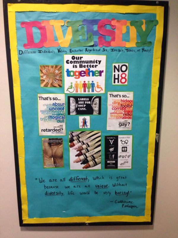 Diversity And Inclusion Bulletin Board Reslife Ra
