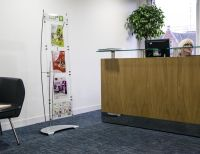 A4 and A5 Floor standing brochure holder display system ...