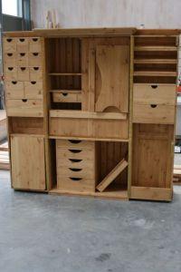 Sewing Cabinet. Facades Quilting Cupboard Deluxe. Facades ...