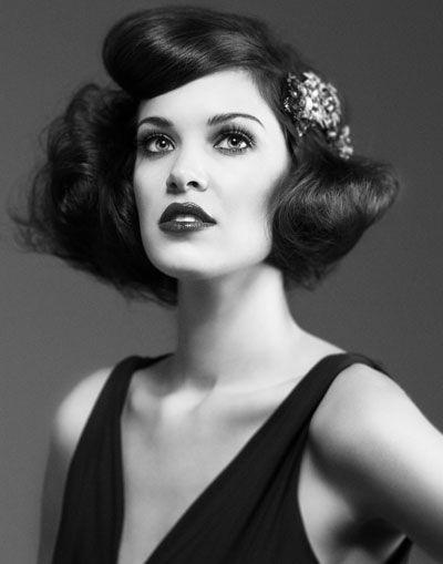 Frisuren Ideen Frisuren Der 20er Jahre Gatsby Roaring Twenties
