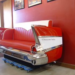 Cars Sofa Chair Fabric Change 1957 Chevy Couch Interested Contact Us At Http Www